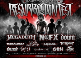 Фестиваль рок-музыки Resurrection Festival
